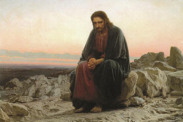 LAS TENTACIONES DE JESÚS EN EL DESIERTO