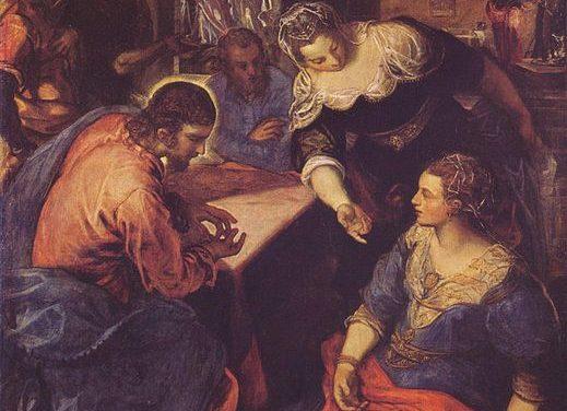 XVI Domingo del Tiempo Ordinario – Marta y María