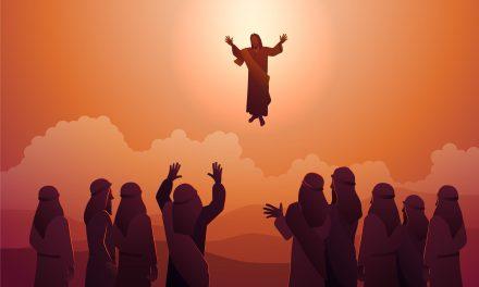 La ascensión de Jesús