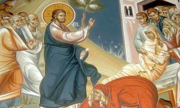 Curación de la mujer enferma y resurrección de la hija de Jairo