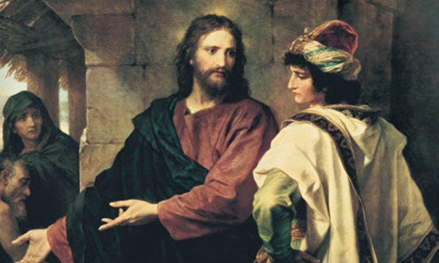 Jesús insiste en la necesidad de una vida de pobreza